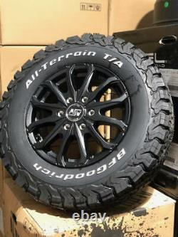 16 Mercedes Sprinter Alloy Wheels Bfg All Terrain Tyres 6x130 Vw Crafter Camper