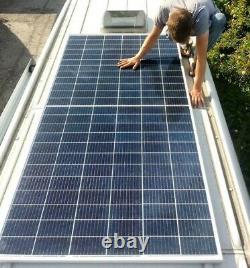 300W Solar Panel Campervan Mercedes Sprinter & VW Crafter Camper Off-Grid