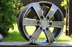 4 Alloys 17 6x130 Mercedes Sprinter Vw Crafter 1250kg (eeeij)