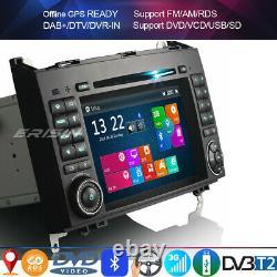 7Car DAB+Stereo DVD GPS Sat Nav Mercedes A/B Class W169 W245 Vito Viano Crafter