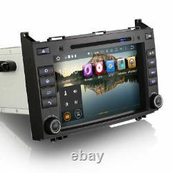 8 Android Auto 10.0 GPS SatNav CarPlay DAB Radio VW Crafter Mercedes Sprinter