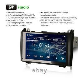 9 GPS Sat Nav Radio Bluetooth Stereo for VW Crafter Mercedes Sprinter A/B Class