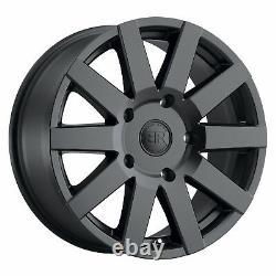 Black Rhino Journey 8x18 6x130 Felgen Mercedes Sprinter Vw Crafter Neu