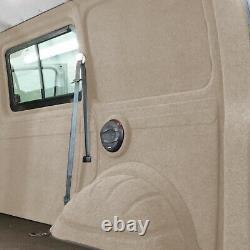 Innenverkleidung Verkleidung Filz Vlies Beige 8x2m passend für VW T6 T5 T4 Caddy