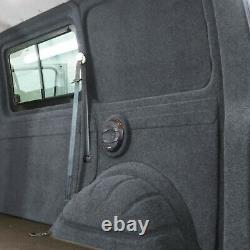 Innenverkleidung Verkleidung Filz Vlies Dunkelgrau 8x2m passend für VW T6 T5 T4