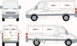 Mercedes Sprinter (07+) / Vw Crafter (07-17) Left Hand Window + Bonding Kit