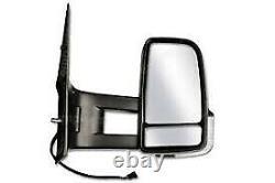 Mercedes Sprinter 2006 2017 Long Arm Manual Door Wing Mirror Pair Set O/S N/S