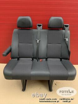Mercedes Sprinter 906 VW Crafter I Sitzbank Sitz Fahrgastraum Hinten Doppelsitz