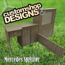 Mercedes Sprinter / Crafter (1996-2010) SWB Camper Van Flat Pack Kitchen Unit