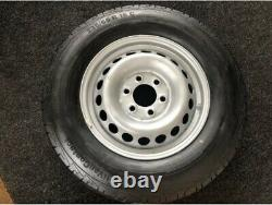 Mercedes Sprinter VW Crafter 235 65 16c Continental Tyre with Steel Rim