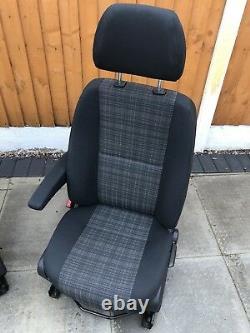 Mercedes Sprinter VW Crafter Front Comfort Driver / Passenger SEATS 06-2017