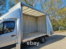 Mercedes Sprinter VW Crafter LWB extra high light weight curtain side body only