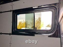 Mercedes Sprinter, VW Crafter Seitenscheibe, Schiebefenster, Montagekit