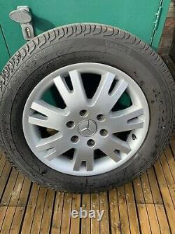 Mercedes Sprinter Vw Crafter 17 Inch Alloy Wheels Rare Genuine