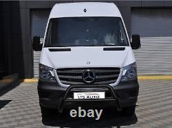 Mercedes Sprinter Vw Crafter Black Axle Nudge A-bar Bull Bar 2014-2018 W K