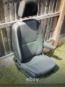 Mercedes Sprinter/vw Crafter Drivers Seat With Arm Rest Very Nice Condition