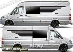 Motorhome Camper van 051 side panel graphic sticker VW Crafter Mercedes Sprinter