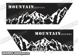 Motorhome Camper van 054 Mountain graphics stickers VW Crafter Mercedes Sprinter