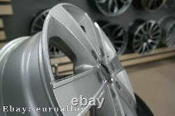 New 4x 16 inch 6x130 Mercedes Sprinter Silver Wheels VW Crafter Rims 1250KG