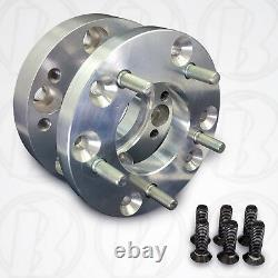USA 6x130 to 5x120 (Mercedes Sprinter VW Crafter) Wheel Adapters / 2 Spacers