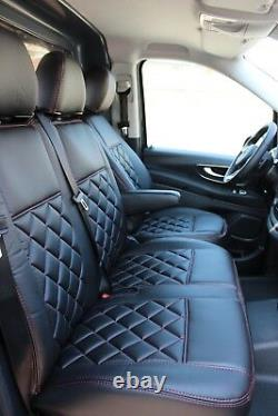 VW Crafter MAN Mercedes Sprinter Vito W447 Passform Autositzbezüge Kunstleder