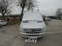 VW Crafter Mercedes Sprinter External Thermal Windscreen Cover Colour Silver