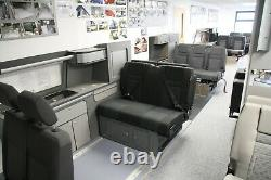 VW Crafter Mercedes Sprinter Passenger (Single) Seat Swivel Plate Swivel Seat